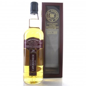 Caperdonich 1996 Cadenhead's Cask Strength 20 Year Old