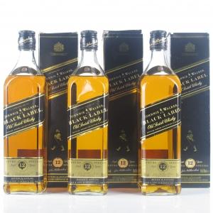 Johnnie Walker Black Label 12 Year Old 3 x 70cl