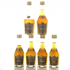Martell VS Cognac Miniatures x 6