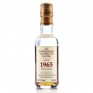 Macallan 1965 Fine and Rare 36 Year Old Miniature 5cl