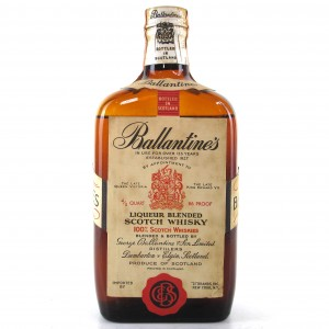Ballantine's Liqueur Scotch 1960s / US Import