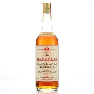 Macallan 1936 Gordon and MacPhail 70 Proof