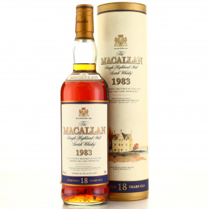 Macallan 1983 18 Year Old