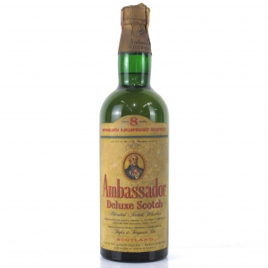 Ambassador 8 Year Old Deluxe Scotch 1960s