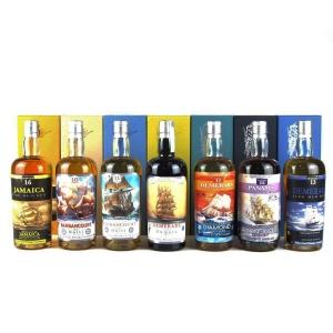Silver Seal Vintage Rum Selection 7 x 70cl / Rock No War Project