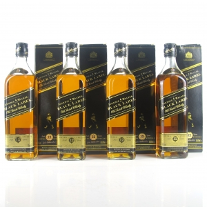 Johnnie Walker Black Label 12 Year Old 4 x 70cl