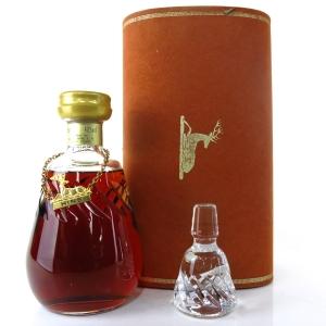 Hine Antique Fine Champagne Cognac / Crystal Decanter