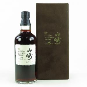 Yamazaki 25 Year Old / Bottled 1998
