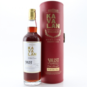 Kavalan Solist Cask Strength Sherry Cask / 59.4%