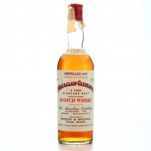 Macallan 1937 Gordon and MacPhail 36 Year Old / Edward and Edward