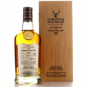 Rosebank 1989 Gordon and MacPhail 30 Year Old Batch #19/012