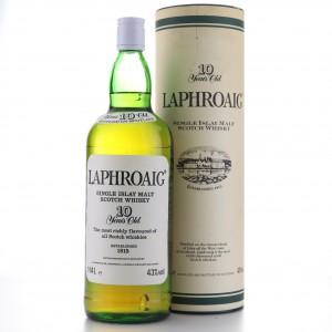Laphroaig 10 Year Old 1.14 Litre 1980s