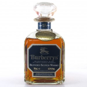 Burberry's 15 Year Old Blended Scotch Whisky 1980s