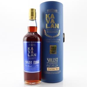Kavalan Solist Cask Strength Sherry Cask / 59.4%