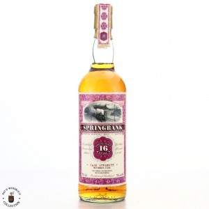 Springbank 1993 Jack Wiebers 16 Year Old / Old Train Line