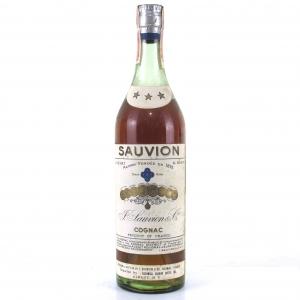 Sauvion 3 Star Cognac 1960s
