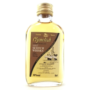 Clynelish 12 Year Old Ainslie and Heilbron Miniature 1980s