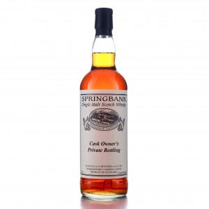 Springbank Cask Owner's Private Bottling