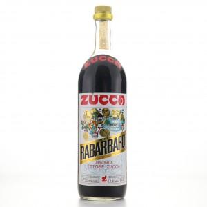 Zucca Elixir Rabarbaro 1 Litre 1980s