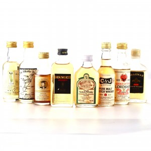 Scotch Whisky Miniatures x 8