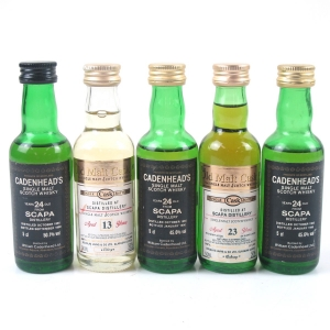 Scapa Miniature Selection 5 x 5cl
