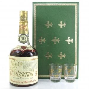 Old Fitzgerald 1959 Vintage 10 Year Old Gift Pack / Stitzel Weller