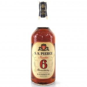 S.S. Pierce Number 6 Full Quart 1960s