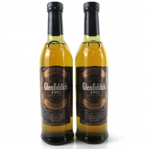 Glenfiddich 1992 Limited Edition 2 x 20cl