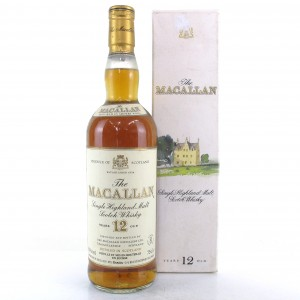 Macallan 12 Year Old 1980s / Gouin Import