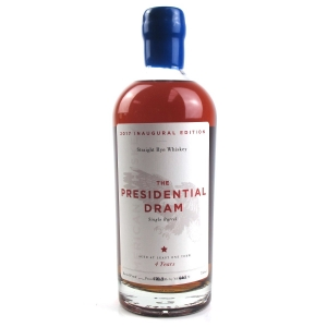 The Presidential Dram 4 Year Old Single Barrel Rye