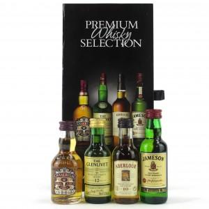 Premium Whisky Selection Miniatures 4 x 5cl