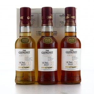 Glenlivet Guardian's Chapter 3 x 20cl (Exotic / Revival / Classic )