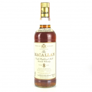Macallan 8 Year Old 1980s / Giovinetti Import