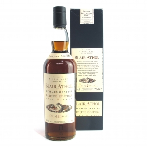 Blair Athol 12 Year Old Flora and Fauna / Commemorative Limited Edition