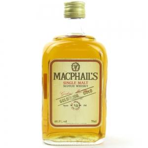 MacPhail's 10 Year Old Single Malt Gold Cask Strength