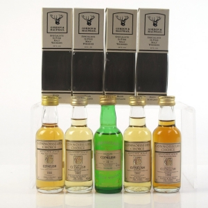 Clynelish Miniature Selection 5 x 5cl / Including 1982 Cadenhead's Cask Strength 11 Year Old