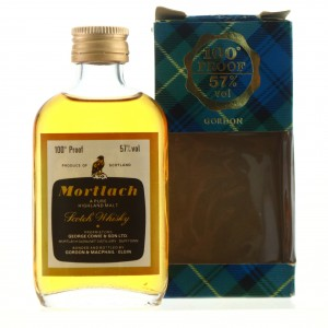 Mortlach Gordon and MacPhail 100 Proof Miniature
