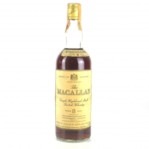 Macallan 8 Year Old 1970s / Rinaldi Import