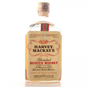 Harvey Mackay's Scotch Whisky 1970s