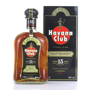 Havana Club 15 Year Old Gran Reserva