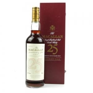 Macallan 25 Year Old Anniversary Malt 75cl