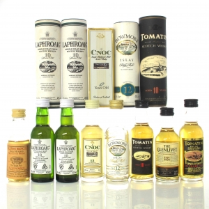 Single Malt Scotch Whisky Miniature Selection x 8