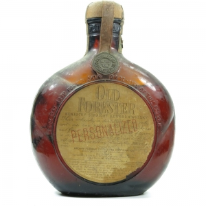 Old Forester Personalized Kentucky Straight Bourbon