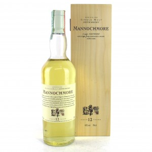 Mannochmore 12 Year Old Flora and Fauna / Wooden Box White Cap