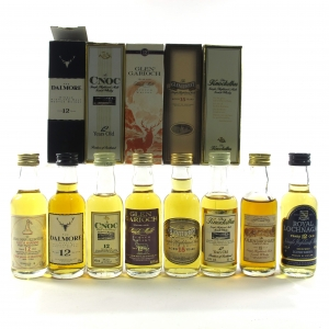 Highland Miniature Selection 8 x 5cl
