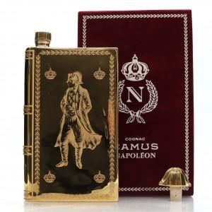 Camus Napoleon Bicentenary Cognac Decanter 1969 / 22k Gold Gilded