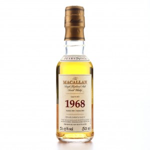 Macallan 1968 Fine and Rare 34 Year Old #2875 Miniature