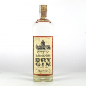 Hamilton City of London Dry Gin 1960/70s