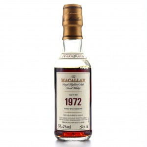 Macallan 1972 Fine and Rare 29 Year Old #4043 Miniature