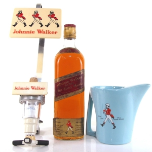 Johnnie Walker Red Label 1970s / Including Jug and Optic